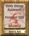 Red Stag Award of Merit